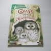 Owls โลกน่ารู้ของ ฮ.นกฮูกตาโต Sarah Courtauld เขียน