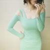 party dress241สีเขียว
