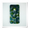 Case iphone4/4s ยี่ห้อ Rock ลายเพชร3มิติ สีเขียว