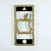Case iphone5 : Swarovski BOX (gold)