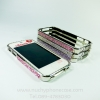 Case iPhone 4/4s, Crystal Swarovski Aluminum Frame