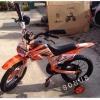 สีส้ม จักรยานวิบาก 16 นิ้ว สำหรับเด็กอายุ 6-8 ปี