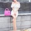 party dress394สีขาว
