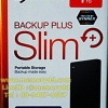 "Seagate Backup Plus Slim 1TB 2.5"" (Black) USB3.0 (STDR1000300)"