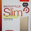 "Seagate Backup Plus Slim 1TB 2.5"" (Gold) USB3.0 (STDR1000309)"