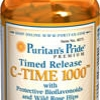 Puritan's Pride - Vitamin C-1000 mg with Rose Hips Time Release 1000 mg 250 Caplets