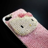 Hello Kitty PINK swarovski Case iphon4/4s &i5