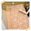 JUNE58.Pack10 : ผ้าจัดเซตอเมริกา 1 ชิ้น+ ผ้าในไทย 2 ชิ้น ผ้าแต่ละชิ้นขนาด 27 X 45cm