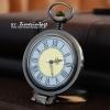 นาฬิกาพก ฝาคริสตัลแว่นขยายสีBronze-ทองเหลือง (พร้อมส่ง)