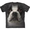 The Mountain Big Face French Bulldog T-Shirts