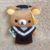 พร้อมส่ง ตุ๊กตา Rilakkuma รับปริญญา