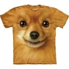 The Mountain Big Face Pomeranian Dog T-Shirts