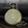 นาฬิกาพกฝาทึบสีทองเหลืองวินเทจ ลายClassic European#1 (พร้อมส่ง)