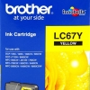 BROTHER INK CARTRIDGE LC-67Y สีเหลือง