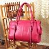 (พร้อมส่ง)กระเป๋าแฟชั่น สีชมพูกุหลาบ สไตล์เรียบๆเก๋ๆ สะพายได้หลายโอกาส แบรนด์ maomao