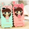 Korean cute cartoon Case iphone5