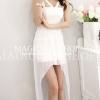 party dress469สีขาว