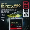 CF Sandisk ExtremePro 64GB 160MB/s (1067X)(SIS/Synnex)