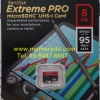 MicroSD Sandisk ExtremePro 8GB 95MB/s (633X)(SIS/Synnex)