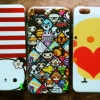 เคสไอโฟน 4/4s บาง 0.3 มิล ลายน่ารัก