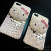 Case Hello Kitty swarovski Case iphon4/4s &i5 /5s(002)