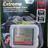 CF Sandisk Extreme 64GB 120MB/s (800X) (SIS/Synnex)
