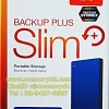 "Seagate Backup Plus Slim 2TB 2.5"" (Blue) USB3.0 (STDR2000302)"
