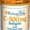 Puritan's Pride - Vitamin C 500 mg with Wild Rose hips 250 Softgels