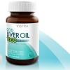 Vistra Cod Liver Oil 1000mg 60's- วิสทร้า ค็อด ลิเวอร์ ออยส์ 1000 พลัส วิตามินอี 60 capsules