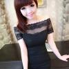 party dress366สีดำ