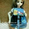 "AprilBDMSD4 : กระเป๋า สำหรับ ตุ๊กตา 16 "" (MSD,AMT,NANCY doll 16 "")"" Pimwaradda's Craft """