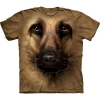 Big Face German Shepherd Dog GSD T-Shirts