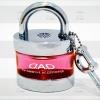 น้ำหอม D.A.D ทรงแม่กุญแจ (สีชมพูใส)