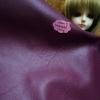 LH13 : ผ้าหนังสีม่วงเข้ม แบ่งขาย 1 หน่วย = ขนาด1/4 หลา : 45X 65 cm