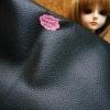 LH22 : ผ้าหนังสีดำ แบ่งขาย 1 หน่วย = ขนาด1/4 หลา : 45X 65 cm