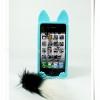 case iphone 4/4s Cat Magic (มีหาง)