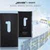 เคส Nokia Lumia 920 - JZZS Leather Case เป็นเคสแข็ง หนัง สีดำ