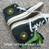รองเท้า Converse สีดำ Size 39