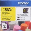 BROTHER INK CARTRIDGE LC-563Y สีเหลือง