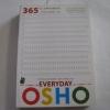 365 วัน มหัศจรรย์สมาธิ Osho บรรยาย กำธร เก่งสกุล แปล***สินค้าหมด***
