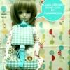 LMB16.Fab2 กระเป๋าเป้ตุ๊กตาสำหรับตุ๊กตา16 นิ้ว