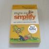 ชีวิตง้าย ง่าย (Simplify your life) พิมพ์คร้้งที่ 4 Werner Tiki Kustenmacher & Lothar J. Seiwert เขียน เจนจิรา เสรีโยธิน แปล***สินค้าหมด***