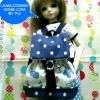 LMB16.Fab5 กระเป๋าเป้ MSD (1/4 BJD) ,Animator doll.
