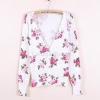 """Free size- เสื้อคลุมZara ลายดอก ดอกเล็ก ใส่สบายใส่กับอะไรก็ได้จ้า อก 34"""" ยาว 23"""" (เสื้อคลุมพร้อมส่ง)"""