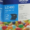 BROTHER INK CARTRIDGE LC-40C สีฟ้า