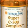 Puritan's Pride - Super Vitamin C-500 Complex 100 Tablets