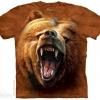 เสื้อยืด3Dสุดแนว(GRIZZLY GROWL T-SHIRT)