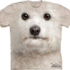 Big Face Bichon Frise Dog T-Shirts