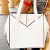 [พร้อมส่ง] กระเป๋า MAOMAOBAG รหัส MB0007 กระเป๋าแฟชั่นเกาหลี (สีขาว)