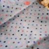 ผ้าcotton ซื้อในตลาดไทยค่ะ1จำนวน= 1/4เมตร (50x55) จุด0.8 cm